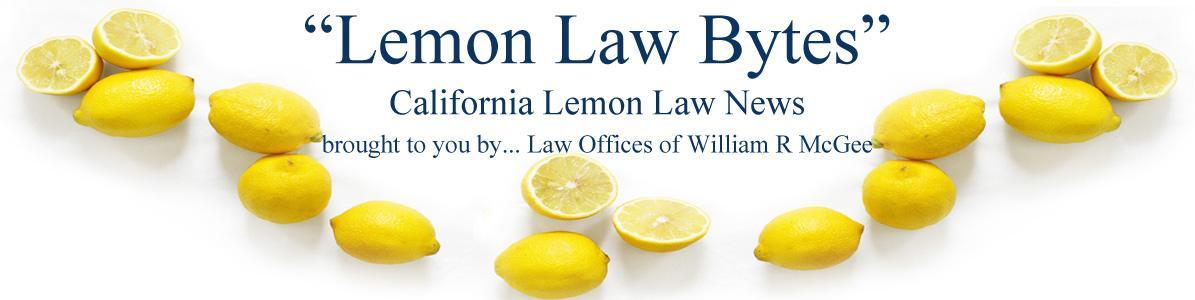 The Lemon Law Experts California Lemon Law Attorneys >> California Lemon Law Lemon Law News Releases California Lemon